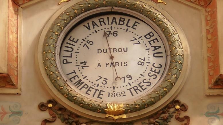 Baromètre Rue du Bourg l'Abbé, Paris 2